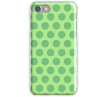 Green Polka Dots iPhone Case/Skin