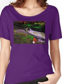 Devil`s Jump Valley  Women's Relaxed Fit T-Shirt