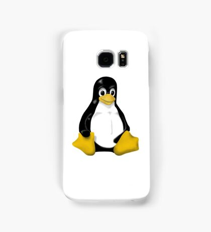 LINUX TUX THE PENGUIN KONTRA SIT Samsung Galaxy Case/Skin