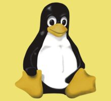 LINUX TUX THE PENGUIN KONTRA SIT Baby Tee