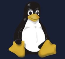 LINUX TUX THE PENGUIN KONTRA SIT Kids Clothes