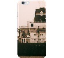 Ship near St. Simon's Island iPhone Case/Skin