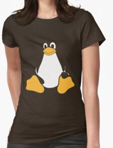 TUX LINUX Womens Fitted T-Shirt