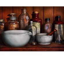 Pharmacist - Medicine for Coughing Photographic Print