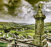 Middlesmoor. (View down Nidderdale) by Sue Smith