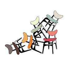 G Plan Classic- The Butterfly Chair Photographic Print