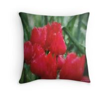 Tulips Throw Pillow