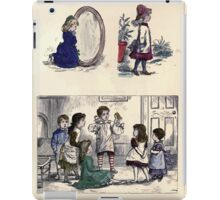 The Little Folks Painting book by George Weatherly and Kate Greenaway 0063 iPad Case/Skin