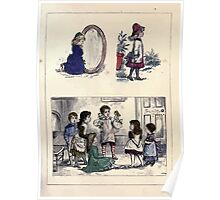 The Little Folks Painting book by George Weatherly and Kate Greenaway 0063 Poster