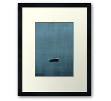 ... AND THE SEA Framed Print