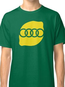 Audi Lemon Car - Yellow Classic T-Shirt