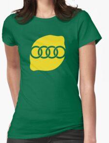Audi Lemon Car - Yellow Womens Fitted T-Shirt