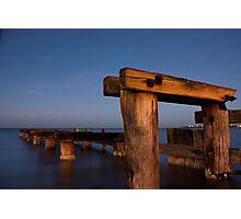 Dawn at Mentone Pier #1 Photographic Print