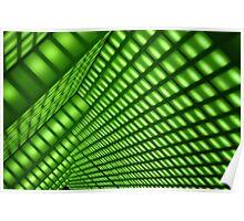 Green Room - Bourke Street Building Foyer  Poster
