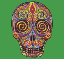 Sugar Skull Day of the Dead shirt Kids Clothes