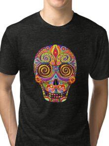 Sugar Skull Day of the Dead shirt Tri-blend T-Shirt