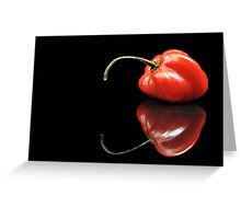 Red Habanero Greeting Card