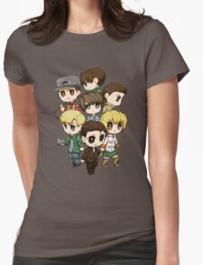 Protagonists of Silent Hill Womens Fitted T-Shirt