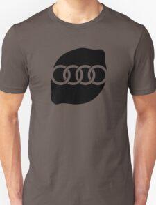 Audi Lemon Car - Black T-Shirt
