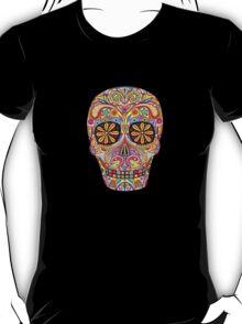 Dia de los Muertos Sugar Skull Shirt T-Shirt