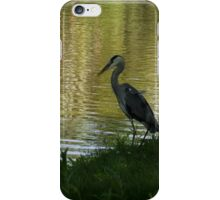 Contemplating Impressionist Paintings iPhone Case/Skin