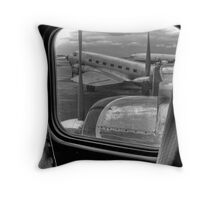 Scene from the Golden Age of Flight Throw Pillow