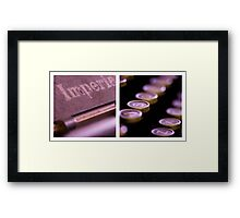 Imperial Diptych Framed Print