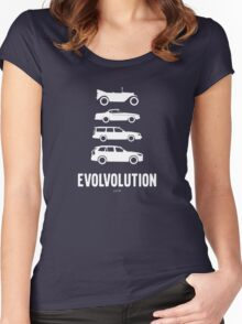 Evolvolution Women's Fitted Scoop T-Shirt