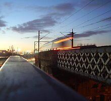 Commuter Train by illman