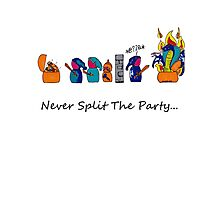 Never Split the Party Photographic Print