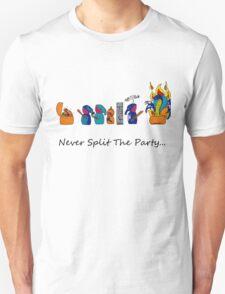 Never Split the Party Unisex T-Shirt