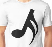 Semiquaver or Sixteenth Note Unisex T-Shirt