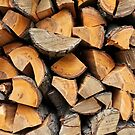 stack of firewood by mrivserg
