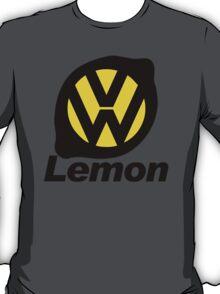 VW Lemon Car - Black T-Shirt