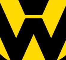 VW Lemon Car - Black Sticker
