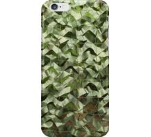 camouflage net  iPhone Case/Skin
