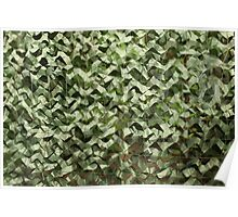 camouflage net  Poster
