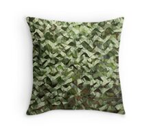 camouflage net  Throw Pillow