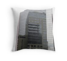 High Rise Reflections Throw Pillow