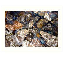 Mosaic Glaze 5 Carcoar Art Print