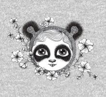 She's got panda eyes One Piece - Long Sleeve