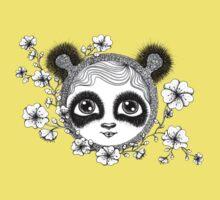 She's got panda eyes Kids Clothes