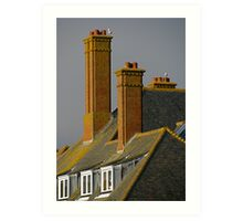Tall chimneys Art Print