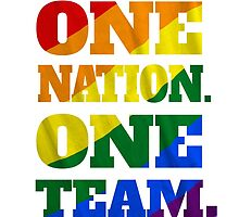 One Nation, One Team - US Soccer - Gay Marriage by Fink76