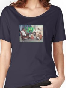 TV is Really Becoming Part of our Family! Women's Relaxed Fit T-Shirt