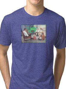 TV is Really Becoming Part of our Family! Tri-blend T-Shirt