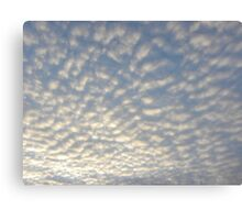 Cool Clouds of Cotton Canvas Print