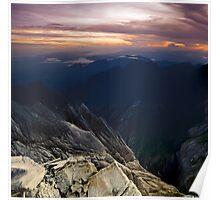 Mt Kinabalu  Poster