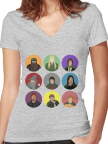 Fellowship Women's Fitted V-Neck T-Shirt