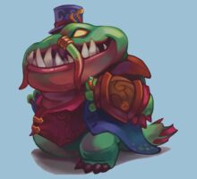 Tahm Kench, the River King *chibi* - League of Legends by IryntArt